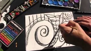 Koru Spiral Plants by Lorri Part 1