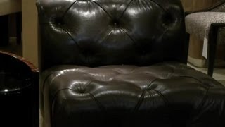 How to Decorate a Living Room Leather Sofa : Home Design Tips