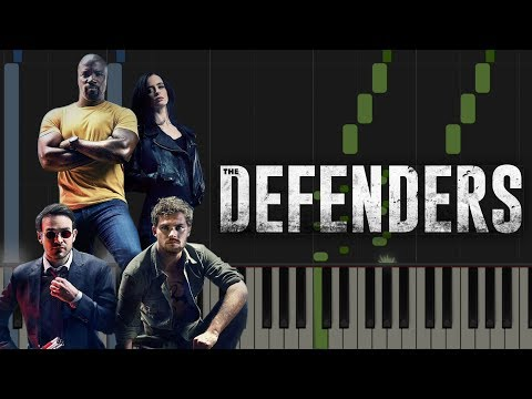 THE DEFENDERS TRAILER: Come As You Are | Piano Lesson & Sheets (Nirvana)