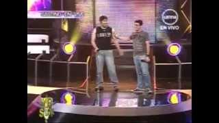 """YO SOY PERU 05/06/12 Casting BON JOVI """"Always"""" """"You give love a bad name"""""""