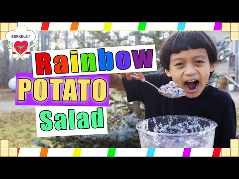 South American Potatoes??? | Rainbow Potato Salad | Berkeley Chefs