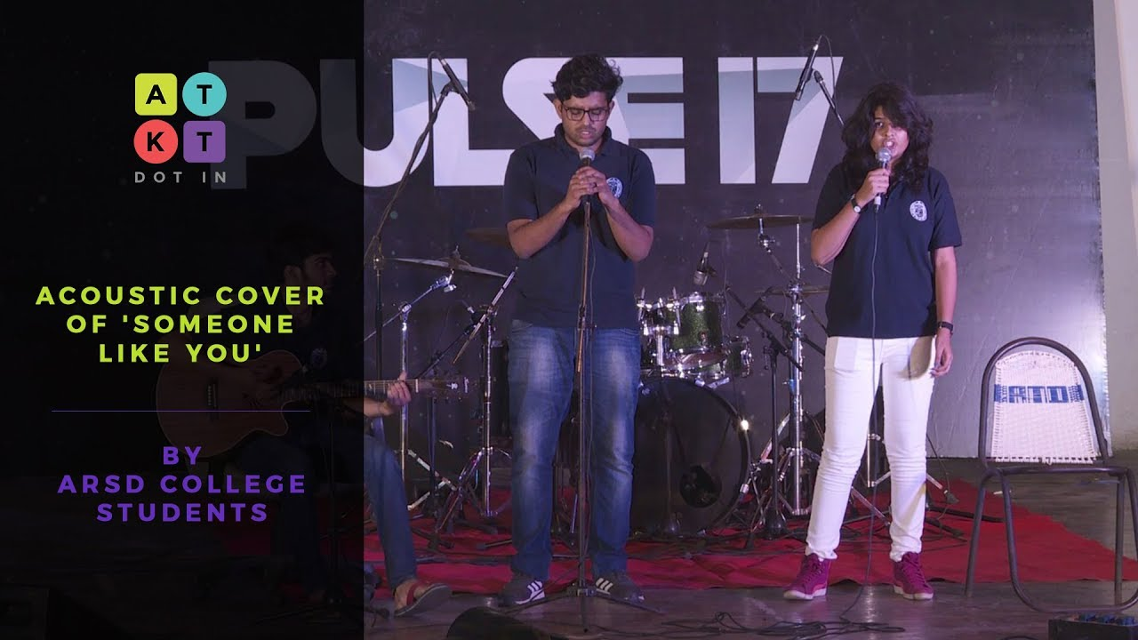 Acoustic Cover of 'Someone Like You' by ARSD College Students | Pulse 2017