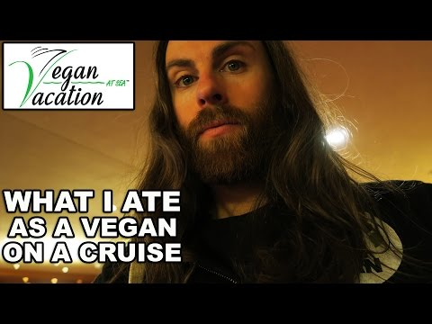 What I Ate As A Vegan On A Cruise | Day 6 pt 2
