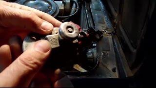 Установка выключателя массы сделанной в СССР на мой автомобиль Дачный мастер на все руки
