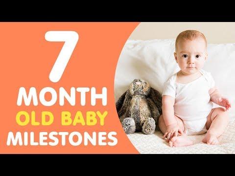 7 Months Old Baby Milestones