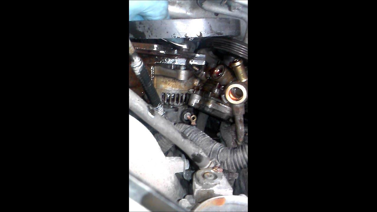 Suzuki Aerio Alternator Replacement