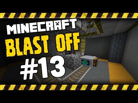 Hardcore Minecraft Blast Off - 13 - Auto Cobblestone Generator - Modded Minecraft HQM