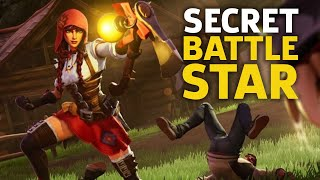 Fortnite - Secret Battle Star Location - Season 6, Week 3