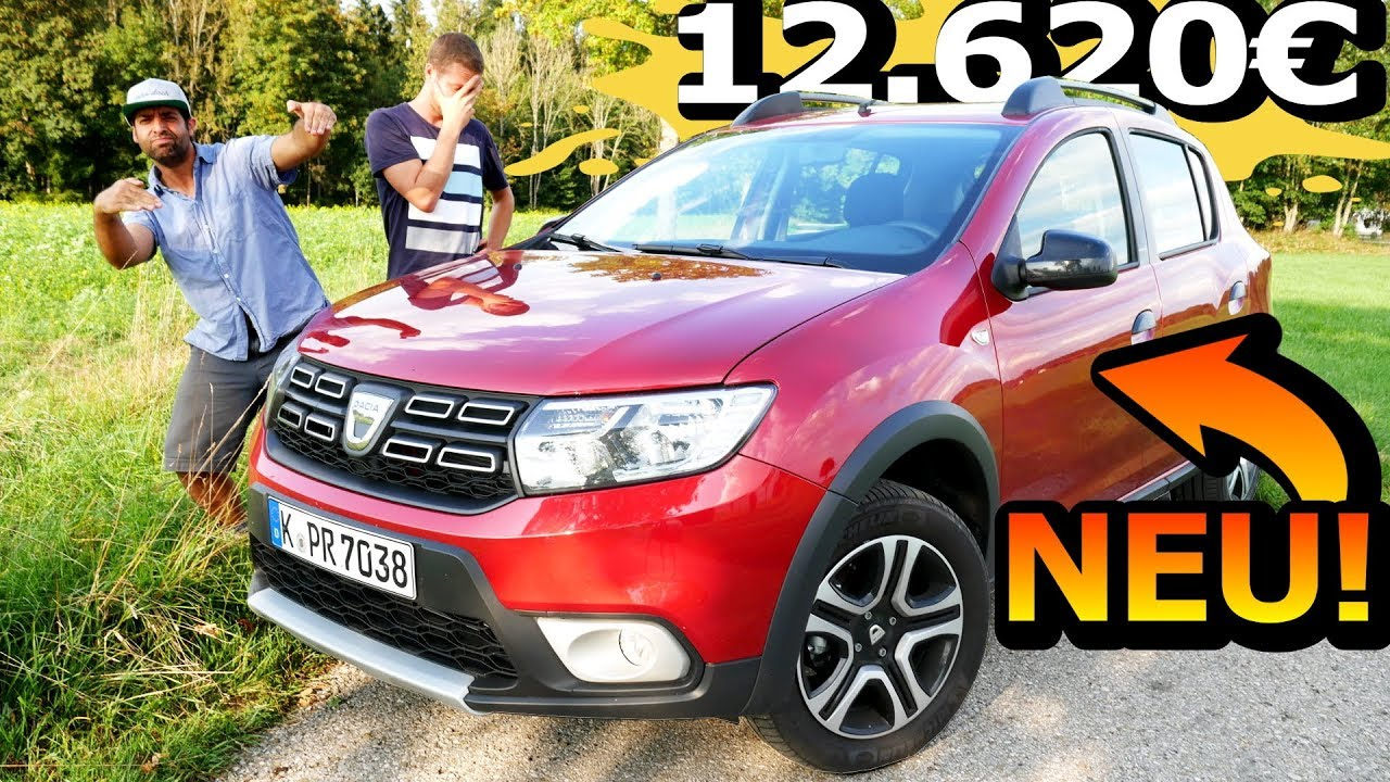 neuwagen f r euro dacia sandero stepway tce 90. Black Bedroom Furniture Sets. Home Design Ideas