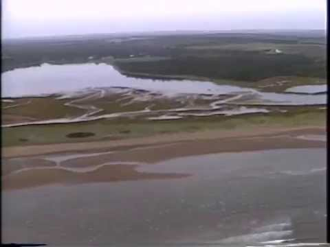 Aerial Survey, Part 10  Boughton  River  Entrance to  East  Point, Prince Edward Island Coastline