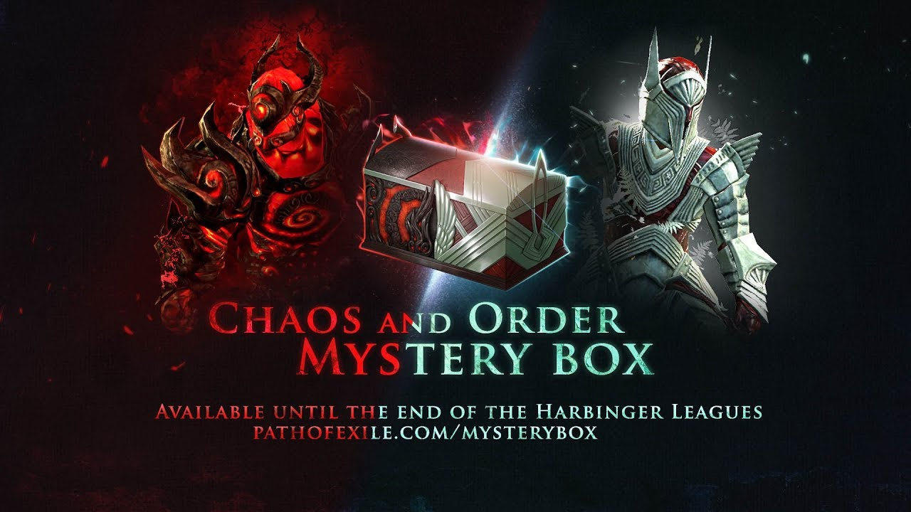 what s in the chaos and order mystery box youtube