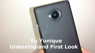 [Hindi] Yu Yunique 8GB Real Unboxing and first look review