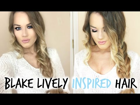 Blake Lively Inspired Messy Fishtail | Easy School Hairstyle!