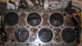 GOLF 3 VR6 TURBO démontage remontage test
