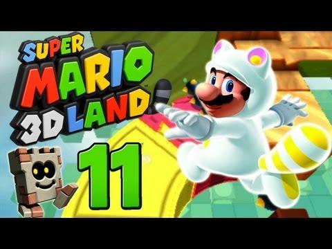 Let's Play Super Mario 3D Land Part 11: Fails ahoi!