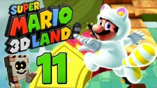 Let's Play Super Mario 3D Land Part 11: Fails ahoi!