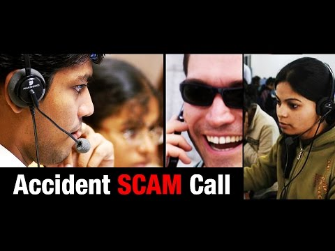 COLD CALL: Accident Scam Phone Call