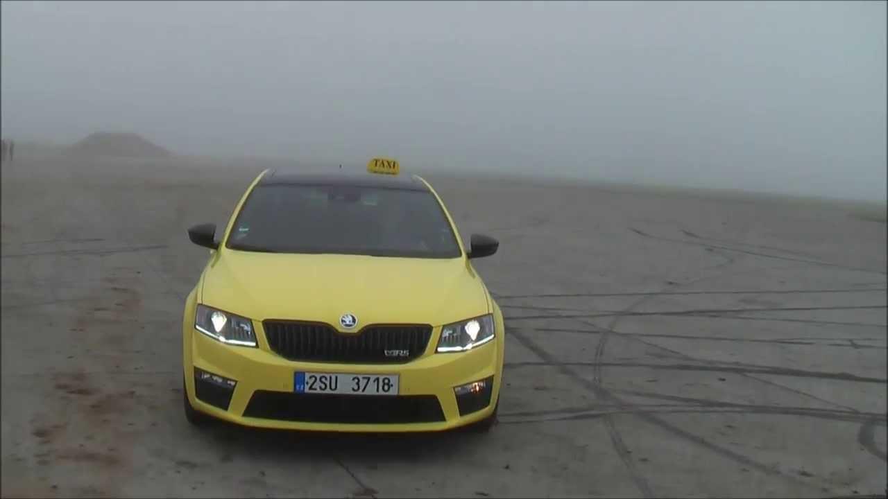 Skoda Octavia Rs 2 0 Tsi Dsg Taxi Youtube