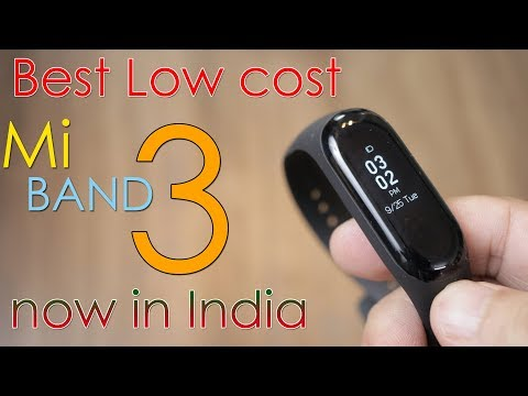 Mi Band 3 just Rs. 1,999,  Now in India, cheapest fitness band! Mp3