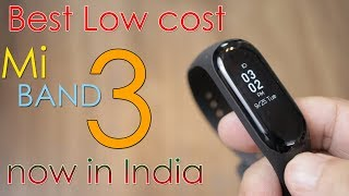 Mi Band 3 just Rs. 1,999,  Now in India, cheapest fitness band!