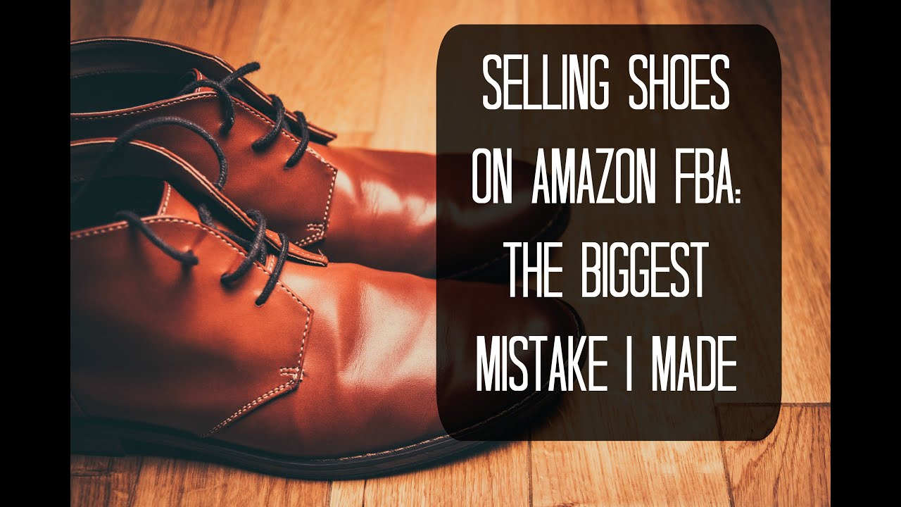 selling shoes on amazon
