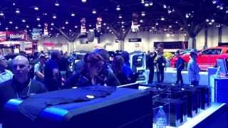 AnaJet and Ford Motor Company at SEMA Show 2013