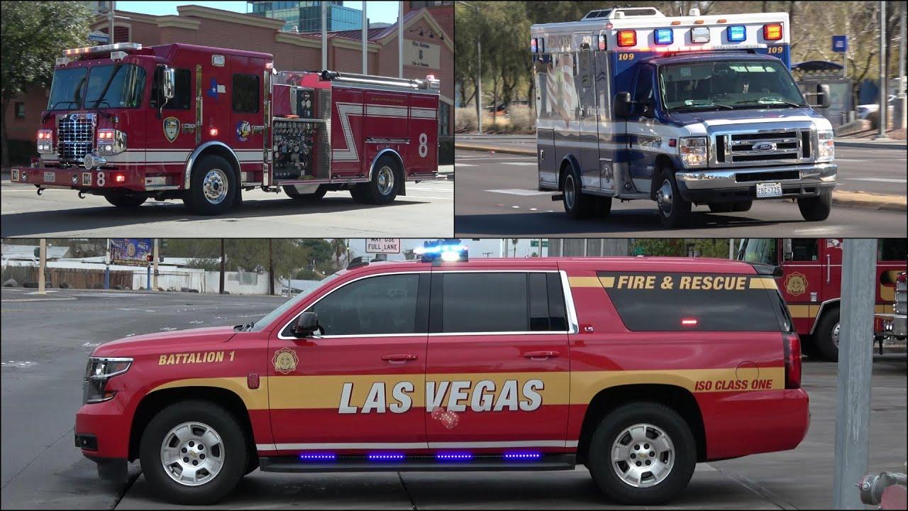 SUSPICIOUS ODOR - Multiple Fire Trucks & Ambulances responding