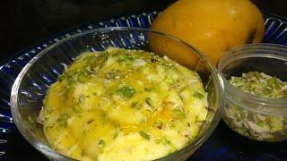 Amrakhand   Mango Shrikhand   Mango Greek yogurt dessert