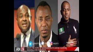 WHO WILL SAVE NIGERIA IN 2019 AMONG SOWORE MOGHALU AND FELA DUROTOYE