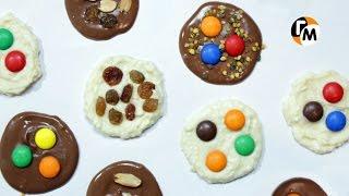 Шоколадные флорентинки | Шоколадные конфеты своими руками -- Голодный Мужчина, Выпуск 121