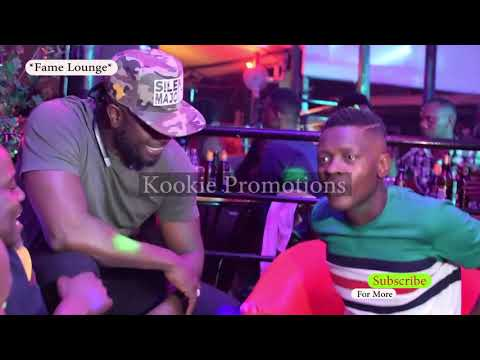 Jose Chameleone Of DP Meets Silent Majority Bebe Cool At Fame Lounge