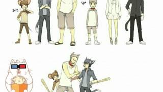 Nhan sắc của Tom and Jerry khi bước vào thế giới Anime