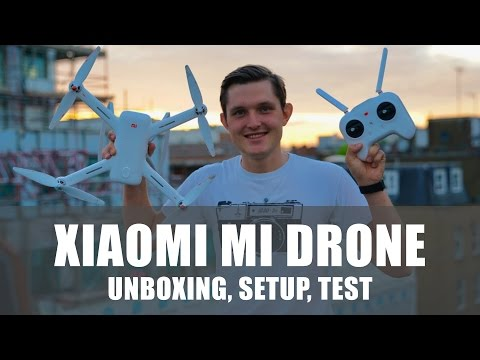 Xiaomi Mi Drone Review - Unboxing, Setup and Flight Test