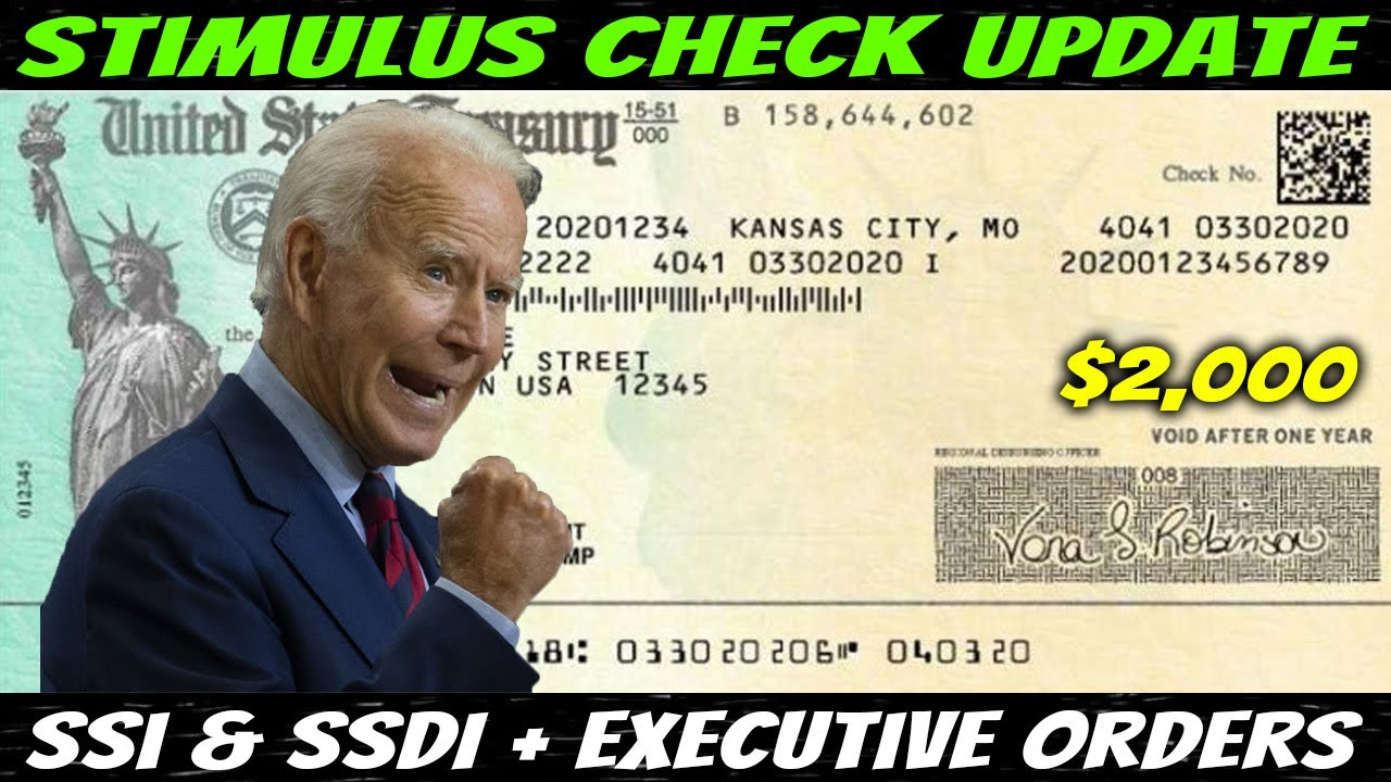 Download TRICKED!! $2,000 Second And Third Stimulus Check Update: SSI & SSDI + Executive Orders - Jan 17