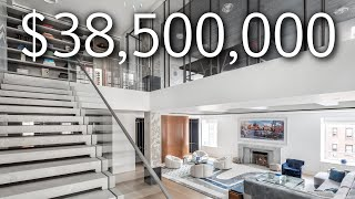 INSIDE A $38,500,000 LUXURY NYC HOME STEPS AWAY FROM CENTRAL PARK!!!