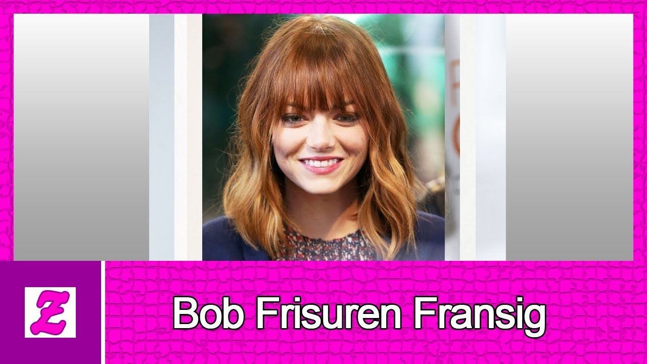 Bob Frisuren Fransig Ideen Youtube