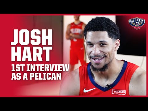 josh-hart-talks-excitement-level-in-1st-interview-with-the-pelicans-|-new-orleans-pelicans