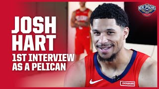 Josh Hart Talks Excitement Level in 1st Interview with the Pelicans  New Orleans Pelicans