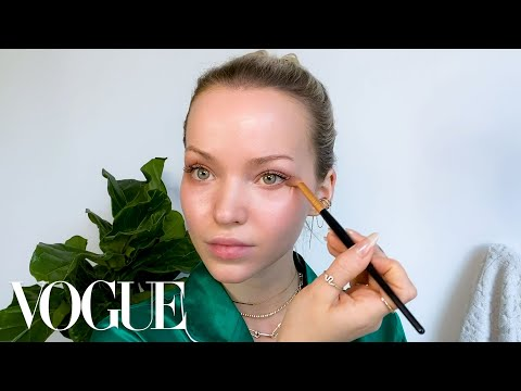 Dove Cameron's Ultimate Day-to-Night Beauty Routine | Beauty Secrets | Vogue