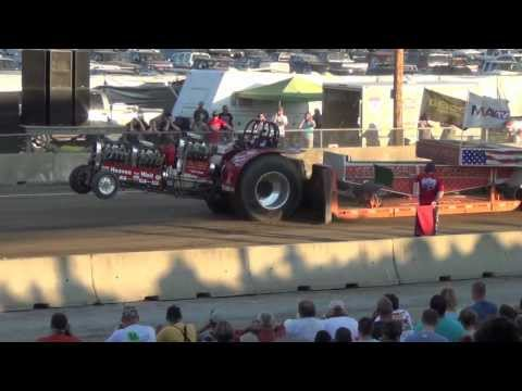 Modified Tractor Pulling Columbia County Fair NY 2012