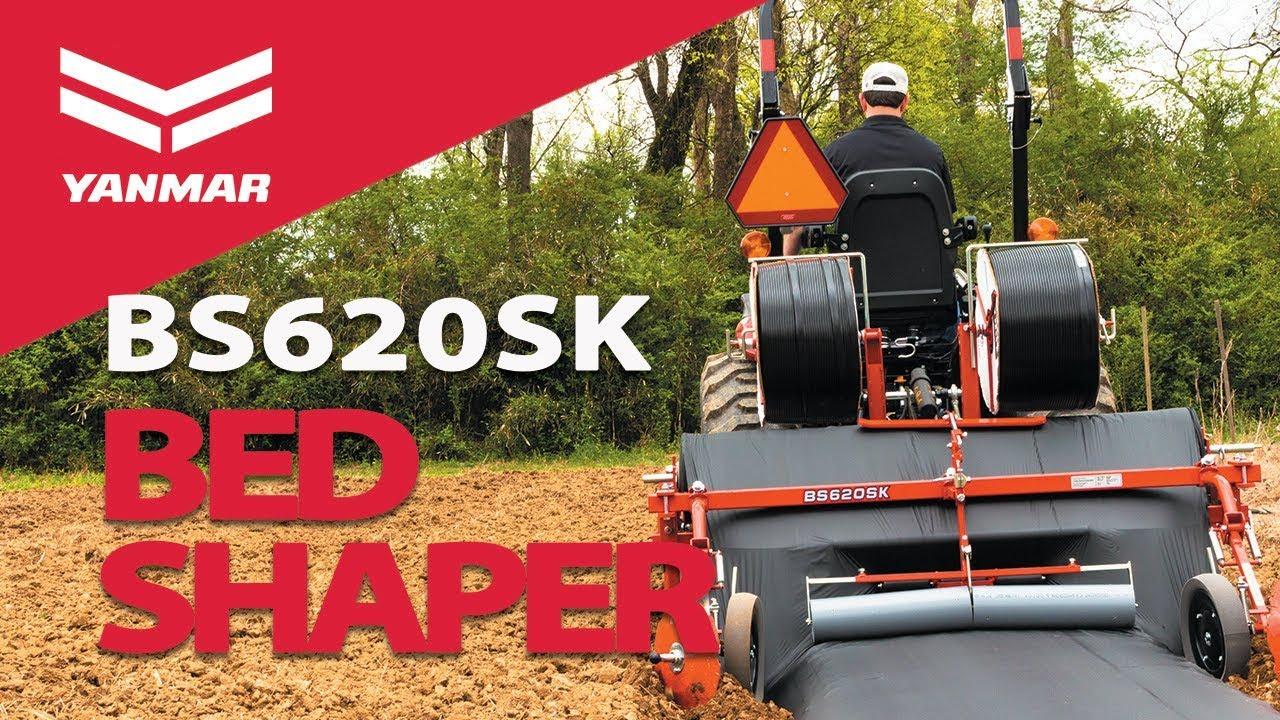 Yanmar BS620SK Bed Shaper In Action - Yanmar Tractor