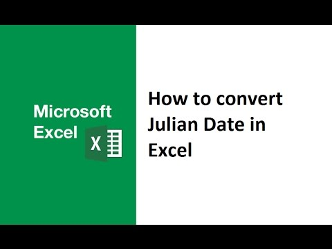 How To Convert Julian Date To Normal Date In Excel Julian