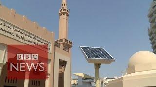 Dubai's environmentally-friendly mosque - BBC News