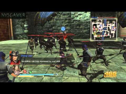 Dynasty Warriors 8 Xtreme Legends - Lu Bu Part 5 - Capture of Puyang