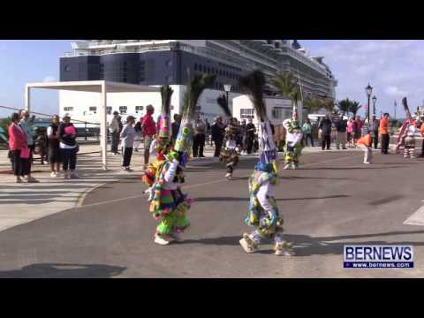 Warwick Gombeys At Norwegian Breakaway Arrival, May 15 2013