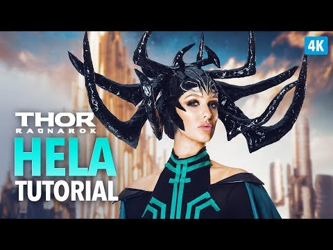 Hela headpiece & costume cosplay tutorial