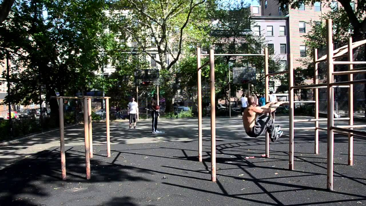 Keith Horan Tompkins Square Park Parkour and Calisthenics  YouTube