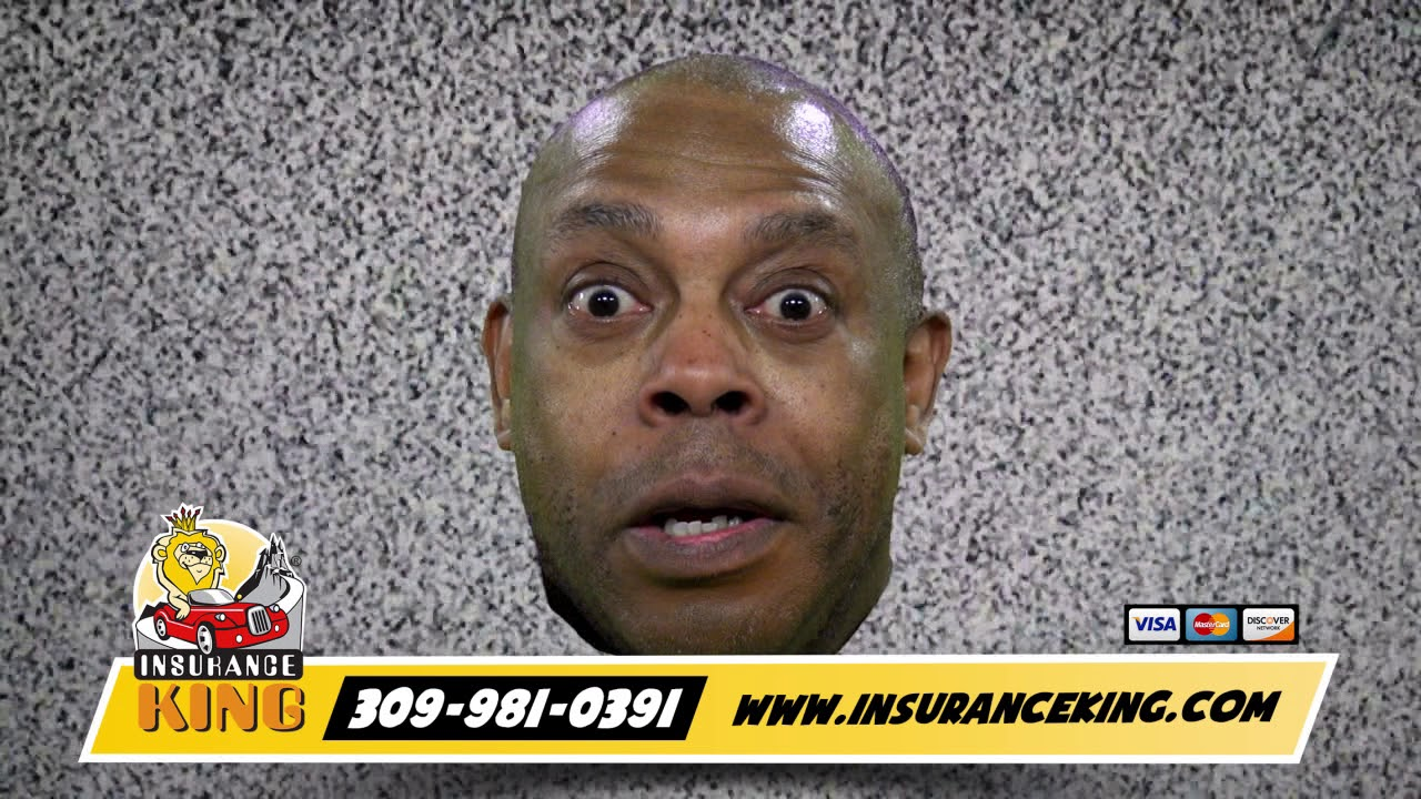 Insurance King Commercial Michael Winslow White Noise Peoria Il