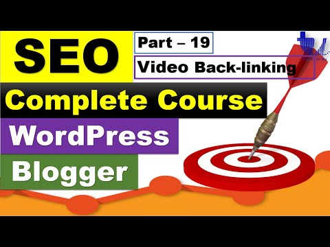 Complete SEO Course for WordPress & Blogger | Part 19 - Get Backlinks By Video Blogging [Urdu/Hindi]