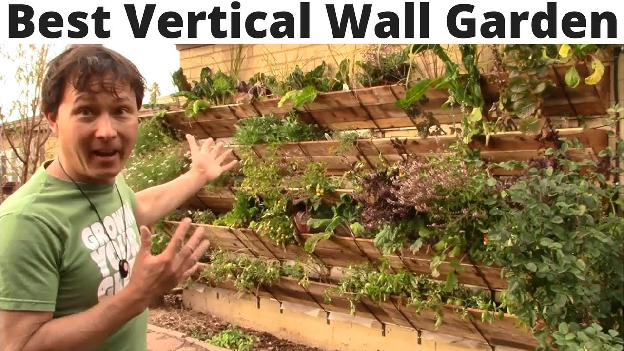 Best Vertical Wall Garden You Can Assemble without Tools ...